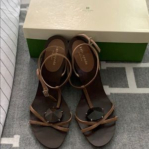 Kate Spade wedge sandals size 8 1/2